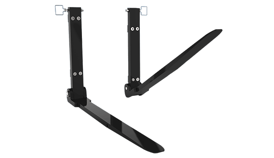 Folding Forks | Lift Truck Attachments | Material Handling