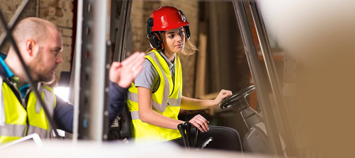 Forklift Driver Training | Safety Instruction | Carolina Handling