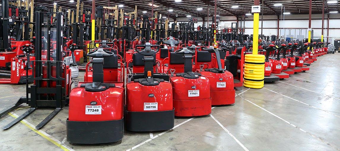 Forklift Rental Company  | Carolina Handling | NC SC GA AL FL