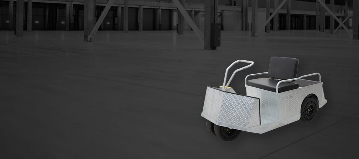 Electric Utility Vehicles | Galvanized Personnel Carrier | Pack Mule
