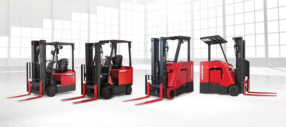 Raymond Forklifts | Carolina Material Handling | NC SC GA AL FL