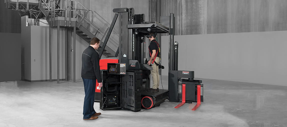 Forklift Simulator | Virtual Reality Training | Carolina Material Handling