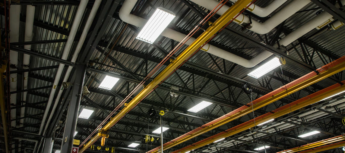 Warehouse Lighting | Industry Lights | Carolina Handling