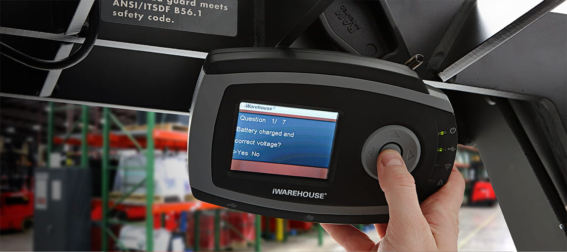 iWAREHOUSE Forklift Telematics