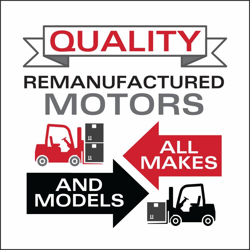 Forklift Motors   Remanufactured   Carolina Handling