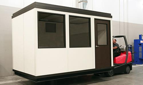 Forkliftable Modular Office | Moveable Buildings | Carolina Handling