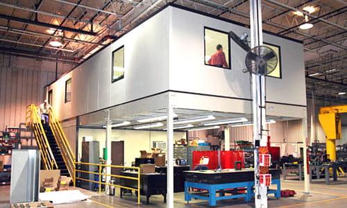Warehouse Mezzanine | Modular Offices | Carolina Handling