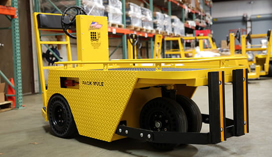 Electric Tow Carts | Utility Vehicles | Pack Mule
