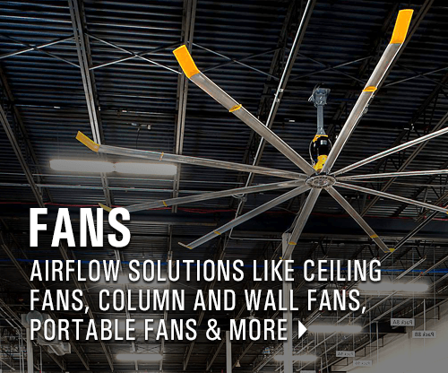 Ceiling Fans | Column Fans | Warehouse Fans
