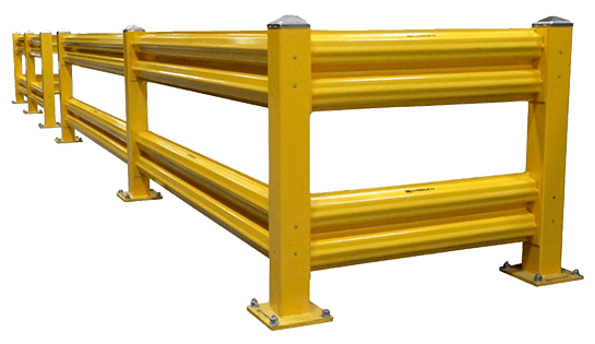 Warehouse Guard Rails | Pallet Racking Products | Carolina Handling