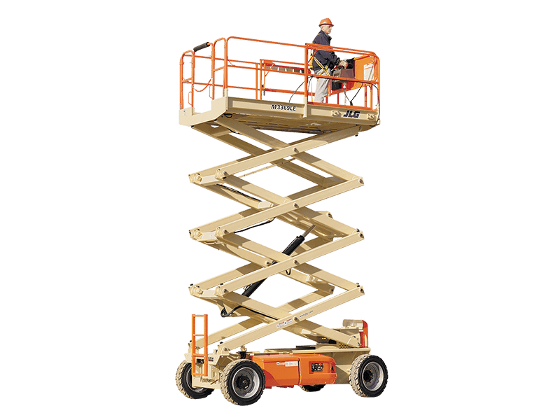 Electric Scissor Lift | Rentals | Carolina Handling