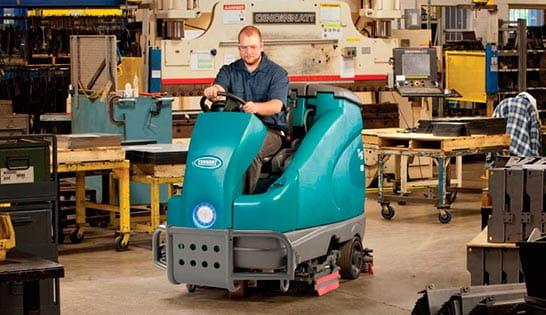 Floor Scrubber Sweeper