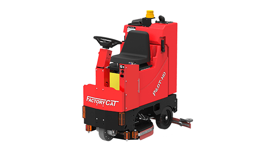 Floor Scrubbers | Pilot HD Scrubber | Factory Cat