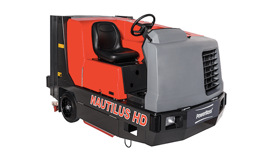 Floor Scrubbers | Nautilus HD Scrubber | PowerBoss