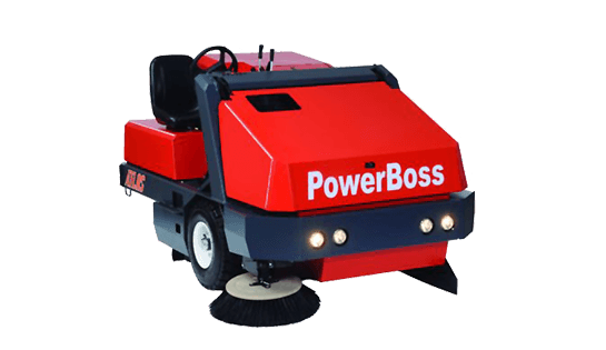 Power Boss 450 Floor Sweeper | Riding Sweepers | Carolina Handling