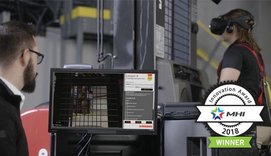 virtual reality simulator, forklift training