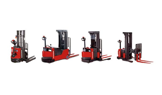 Pallet Stacker, walk behind forklift, Walkie Stacker