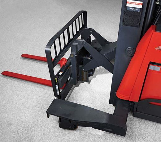 Raymond 7310 4-Directional Reach Truck Rugged Reach Scissor Mechanism