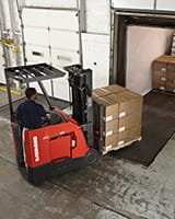 stand up forklift