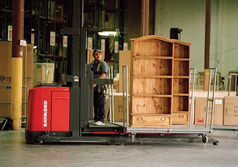 Raymond Furniture Order Picker Truck