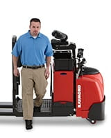Raymond 8510 Electric Center Control Riding Pallet Truck