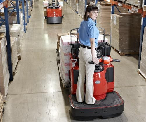 Electric pallet trucks raymond pallet jacks carolina for Motorized pallet jack rental