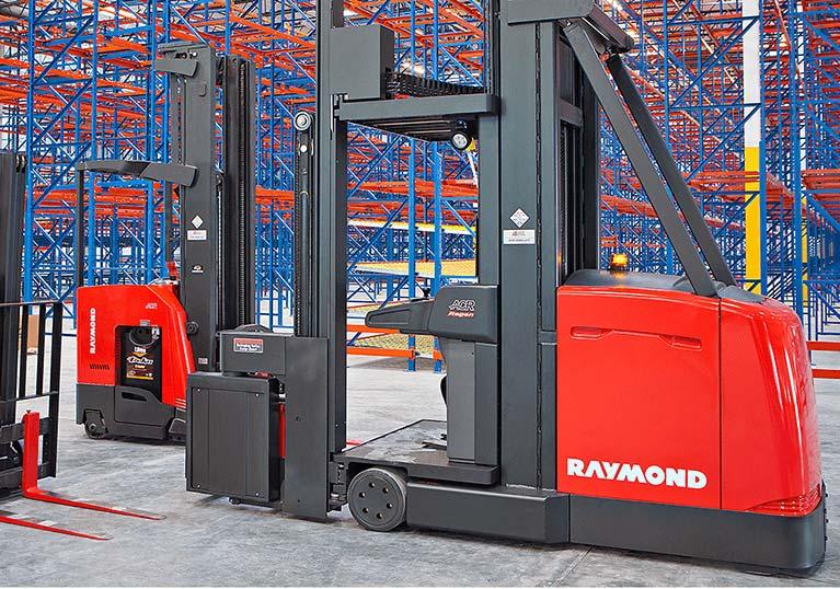 Raymond 9000 Series Swing Reach Turret Trucks Parts Commonality