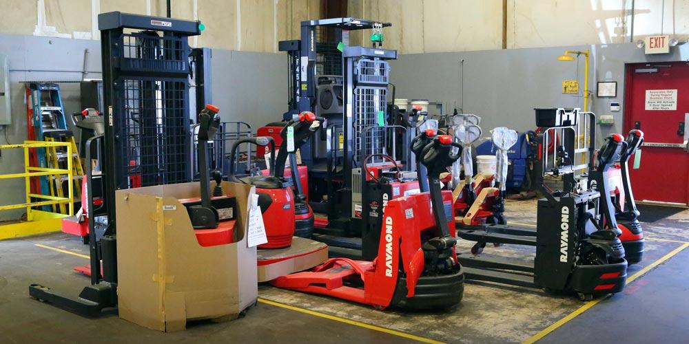 Forklift Service Maintenance Guide from Carolina Handling