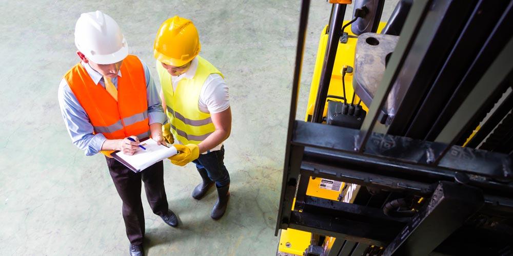 Forklift Maintenance Checklist from Carolina Handling