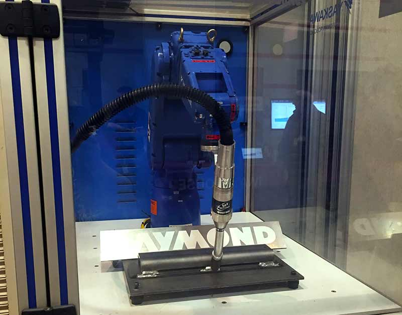 Robotic Welder at National Manufacturing Day Event
